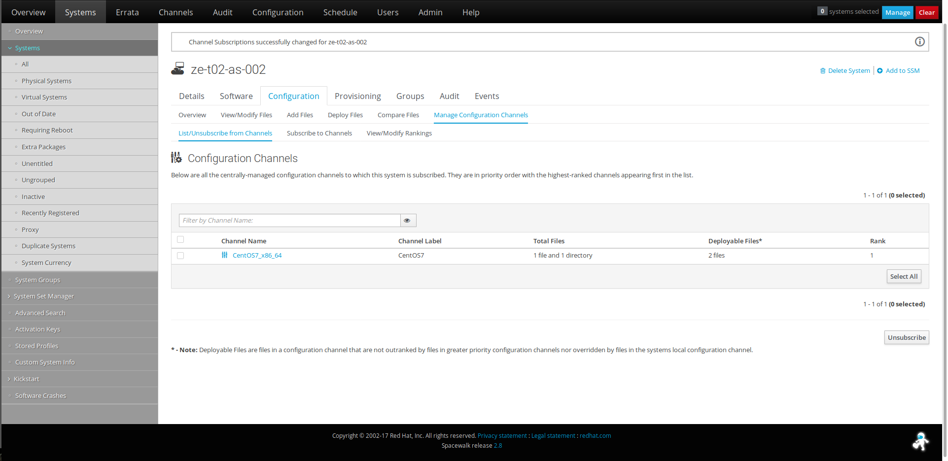 Now we can deploy the configuration both from the server and from local  machines, and create partitions.