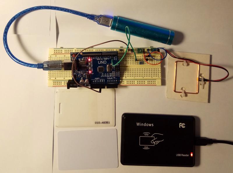 Эмулятор RFID на Arduino