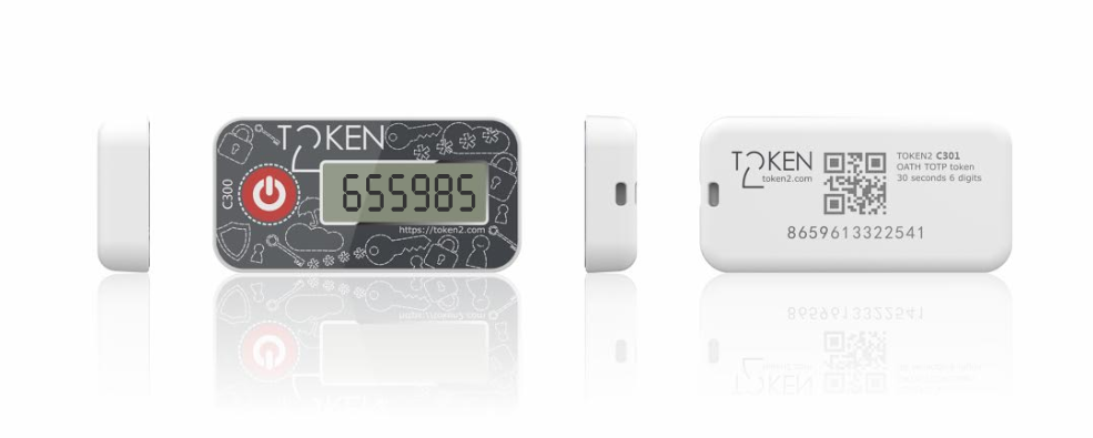 C301 and miniOTP-3, new programmable tokens from Token2