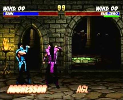 Ultimate Mortal Kombat 3: Rain vs. Sub-Zero
