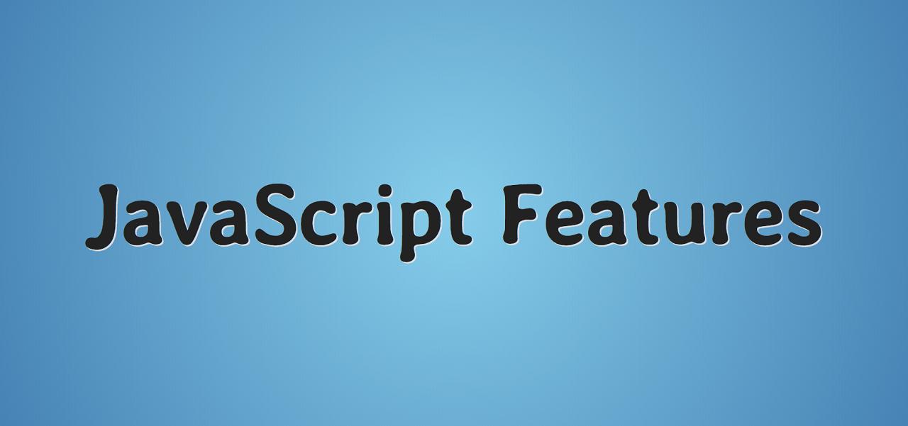 Фичи JavaScript. Часть 1