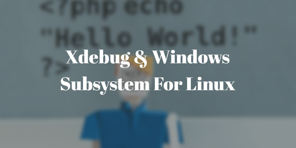 Xdebug через Windows Subsystem For Linux 2 (WSL2)
