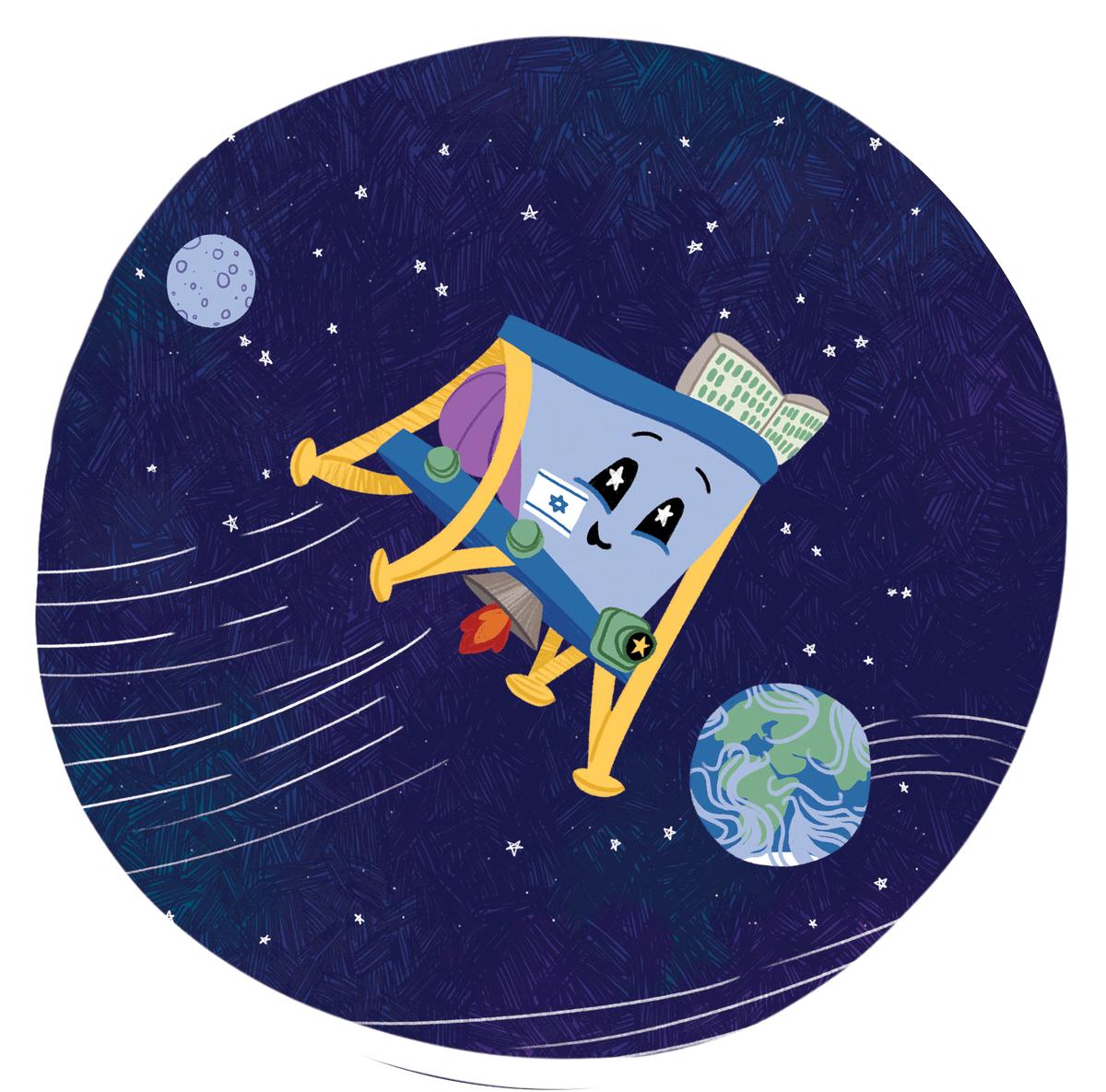 Лунная миссия «Берешит» — четвертый маневр завершен успешно, идет подготовка к выходу на Лунную орбиту