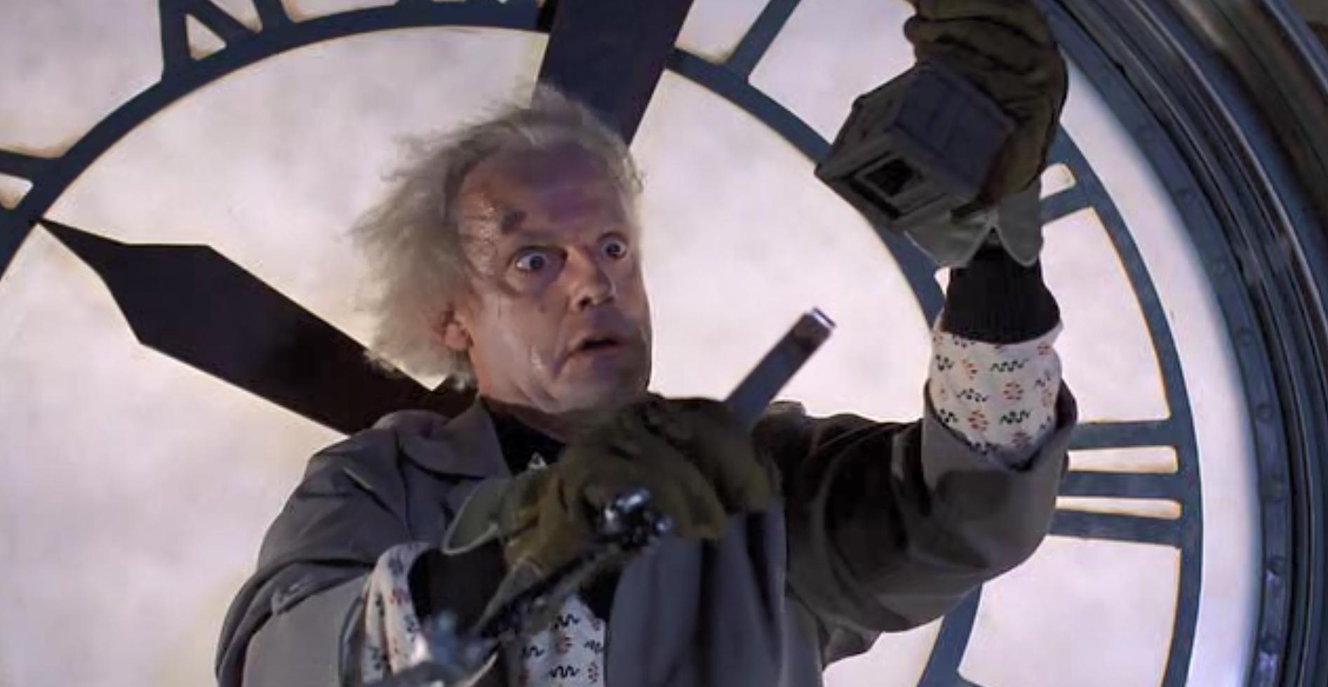 Кадр из фильма Back to the Future