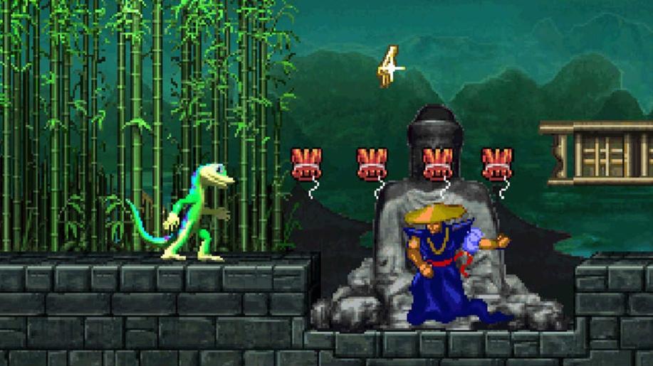 32-битный Gex едва ли лучше классики Mega Drive: Aladdin, Lion King, Comix Zone, Vectorman..