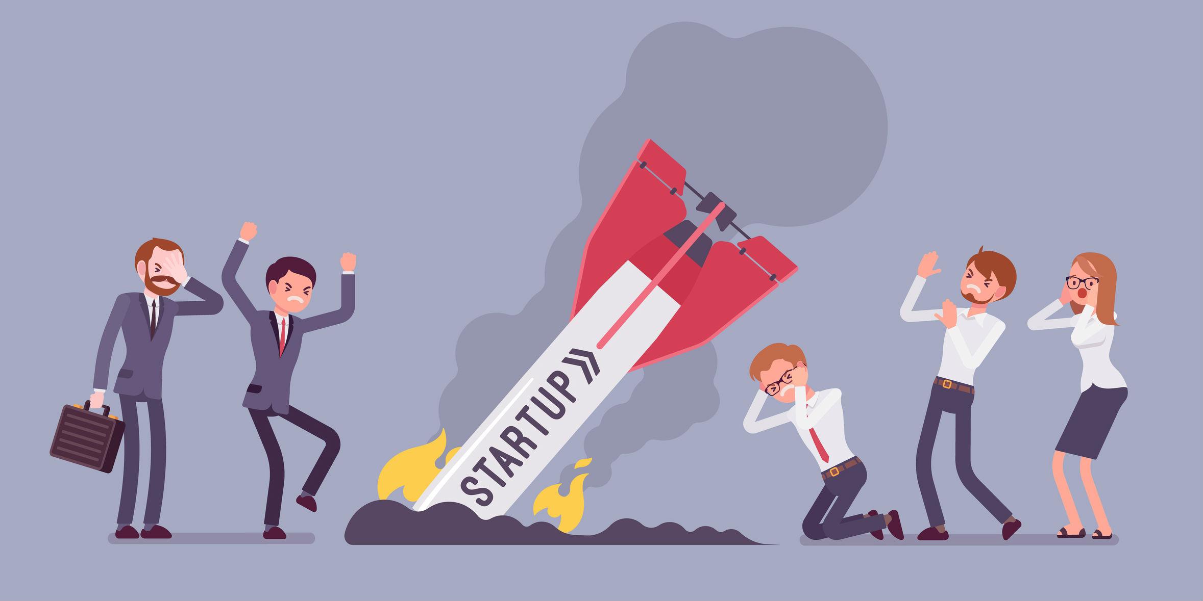 Перевод Как и по каким причинам провалились мои первые 5 стартапов