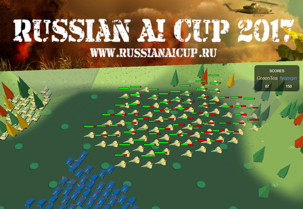 Моя стратегия на Russian AI Cup 2017
