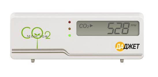 Получение данных с датчика углекислого газа Даджет в системы умного дома