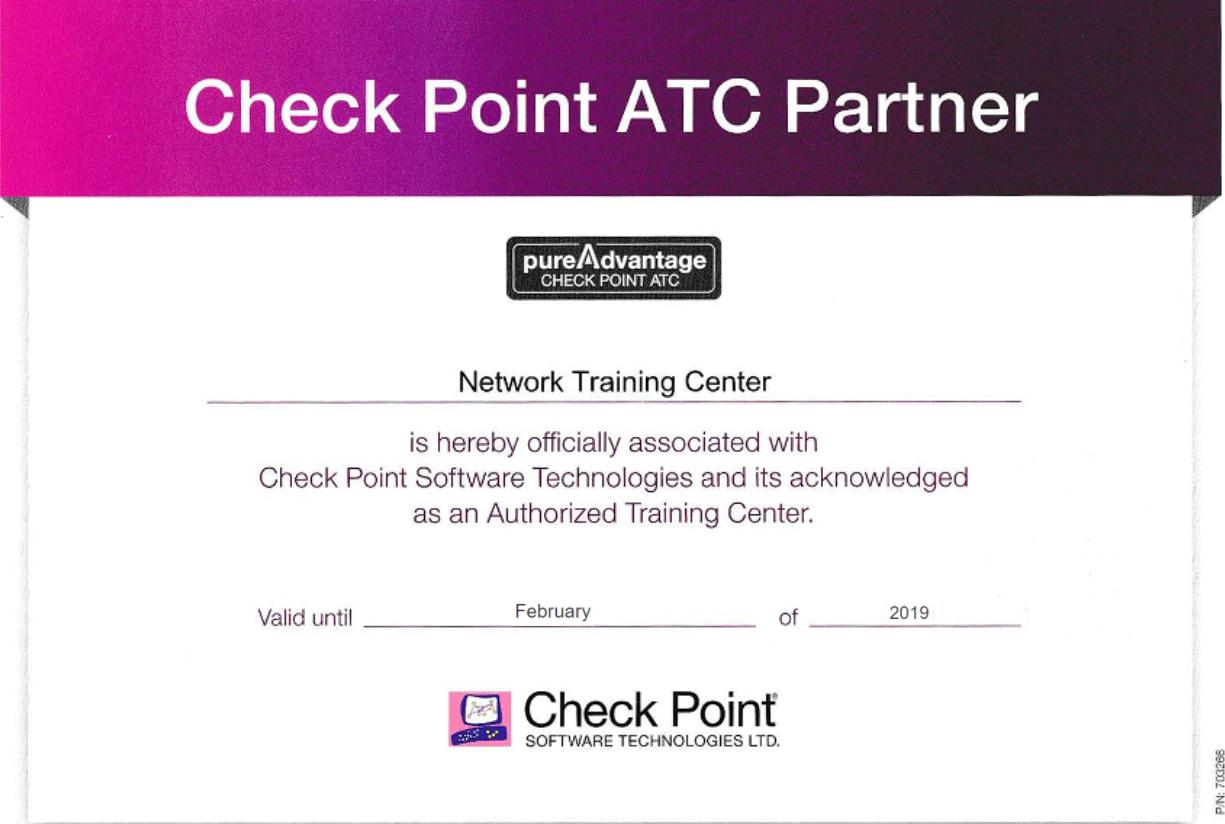 Новый офис учебного центра NTC — учебный центр Check Point