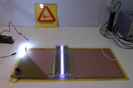 We study nitrogen lasers - part 1. Transverse discharge lasers