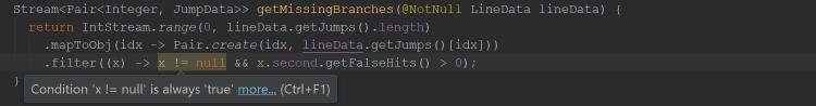 mapToObj(idx -> Pair.create(...)).filter((x) -> x != null && ...); интересно, а слепые читают эту статью? Я тут альтернативный текст пишу ко всем картинкам, от этого польза есть или нету?