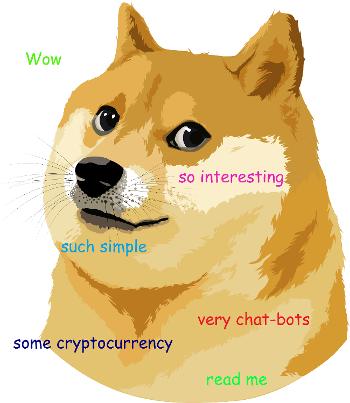[Из песочницы] Создание Telegram-бота для получения информации о криптовалютном кошельке Dogecoin
