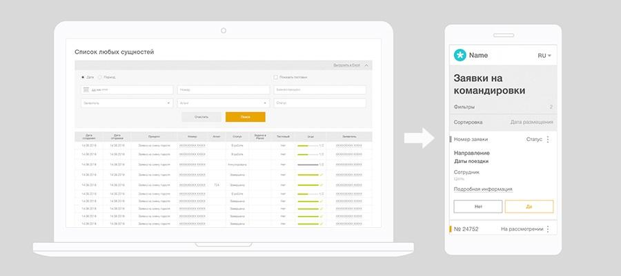 Как мы уместили таблицы в экран смартфона и унифицировали в рамках дизайн-системы