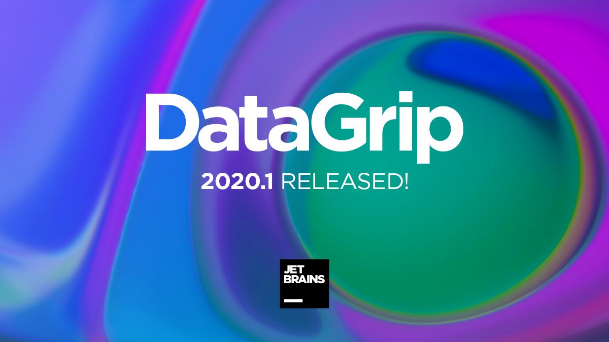 DataGrip 2020.1: Конфигурации запуска, Экспорт в Excel, Результаты в редакторе и другое