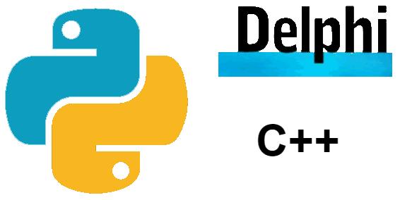 Python, Delphi и C++ глазами учёного