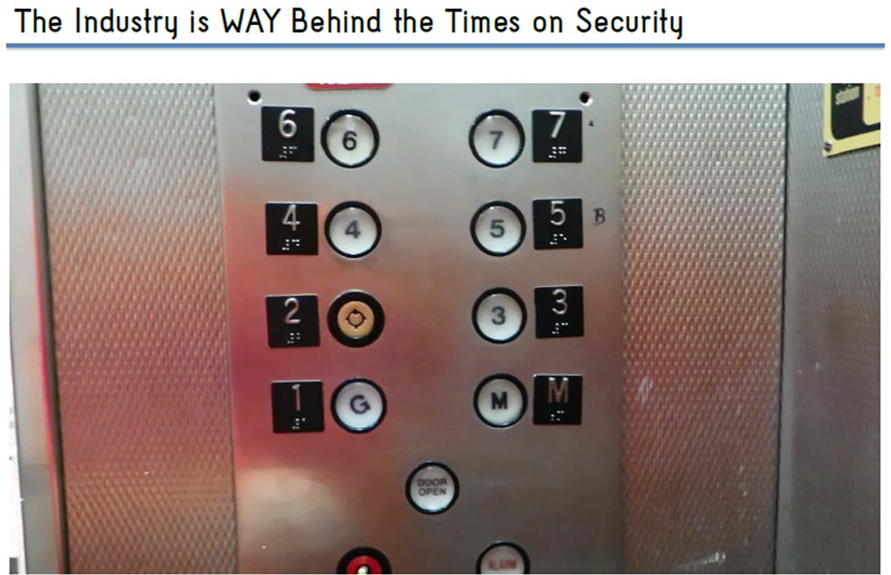 """Conference HOPE X. """"Breaking the elevator: from the basement to the penthouse."""" Part 2. """"Security Systems"""""""