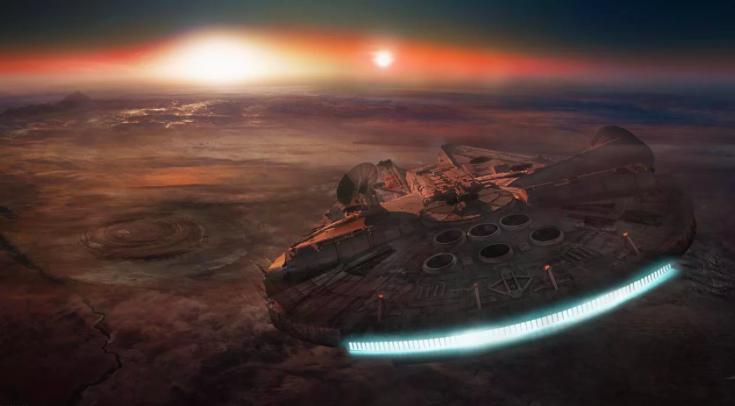Отслеживаем Millenium Falcon с помощью TensorFlow