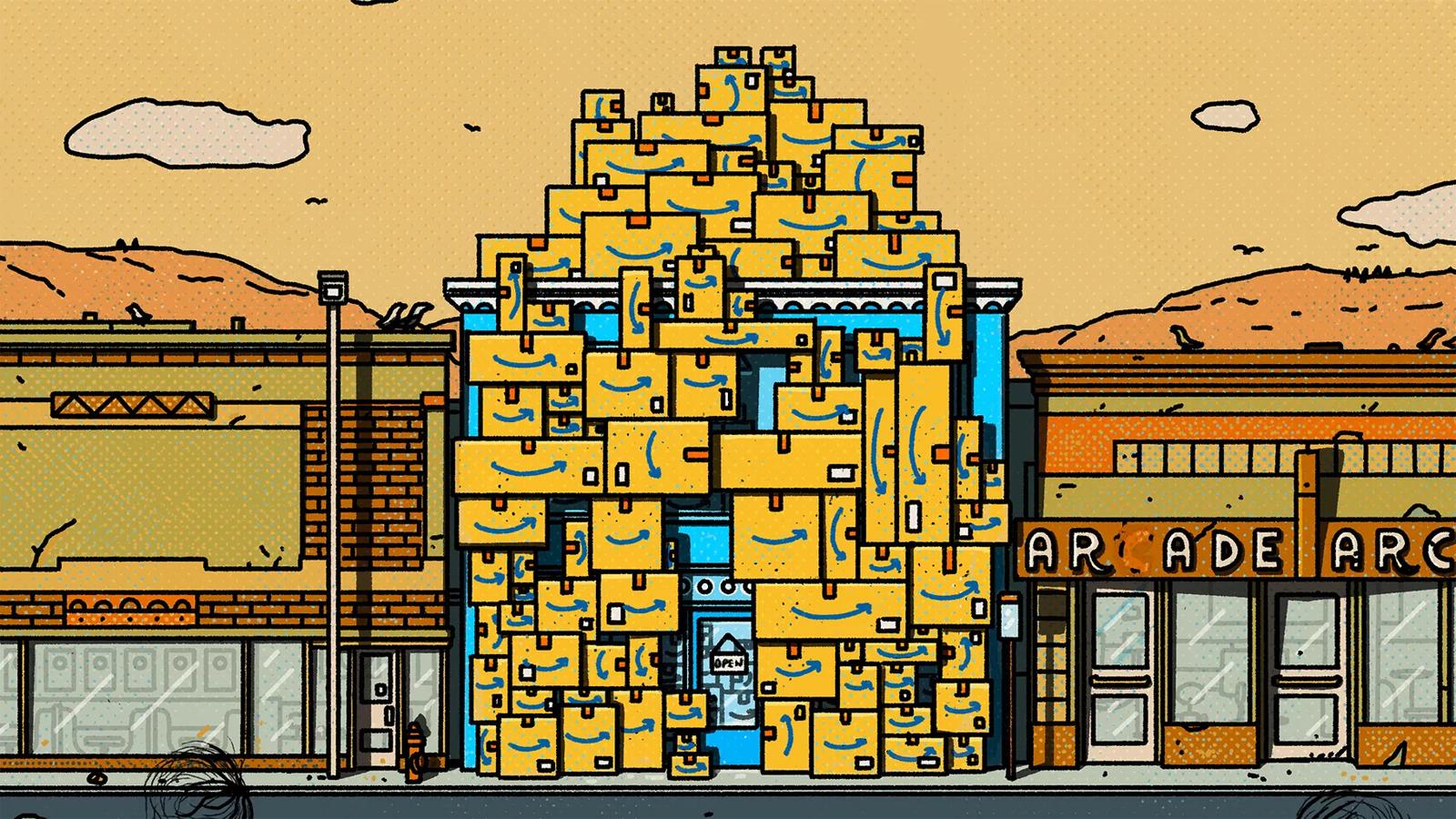 [Перевод] Как маленький городок в глубинке превратился в центр международной электронной торговли