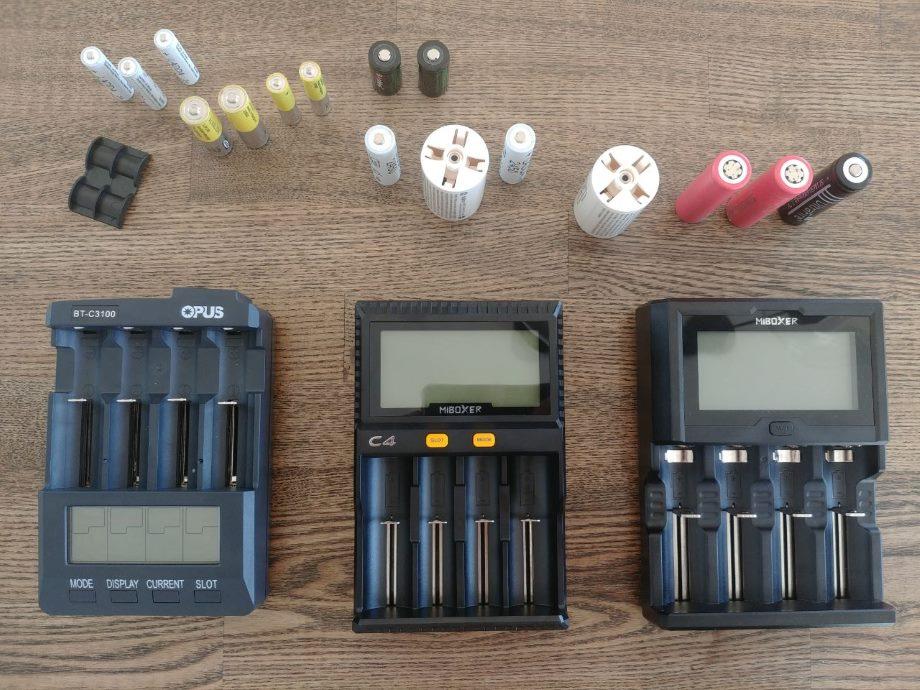 заряжаем аа ааа и другое цилиндрическое и аккумуляторное хабр