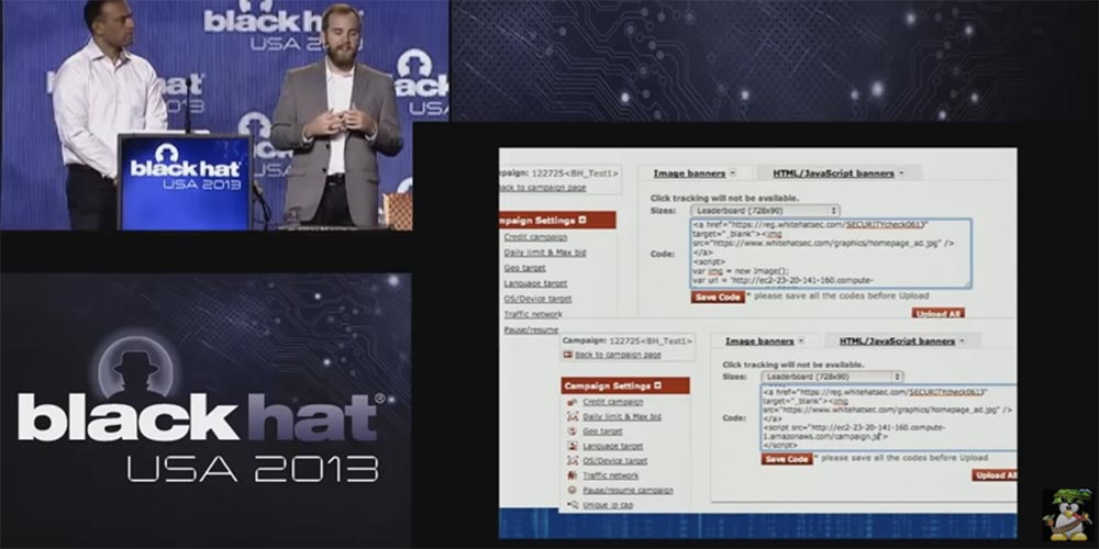 Conference BLACK HAT USA. A botnet of a million browsers. Part 2