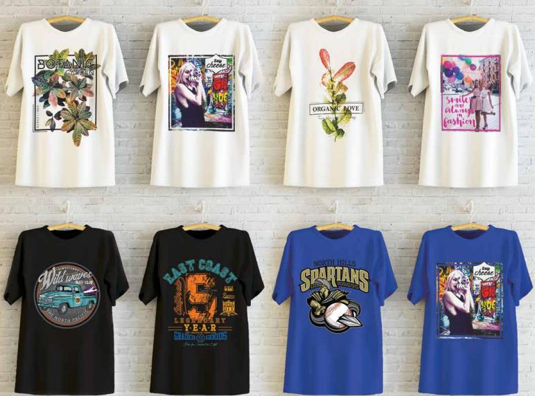Прямая печать на футболках с Epson SureColor SC–F и её отличие от шелкографии, термоаппликации и сублимации