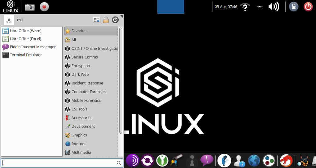 CSI Linux: linux-дистрибутив для кибер-расследований и OSINT — IT-МИР. ПОМОЩЬ В IT-МИРЕ 2021