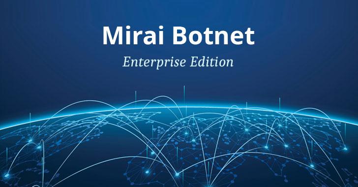 Клон Mirai добавляет дюжину новых эксплойтов для целевых корпоративных IoT-устройств