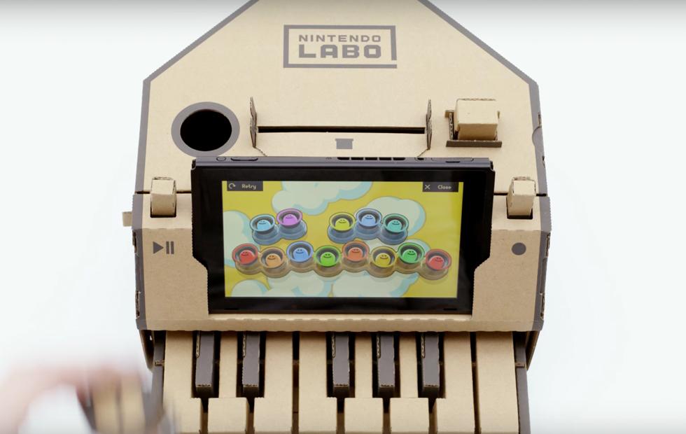 Компания Nintendo анонсировала картонные контроллеры для Switch