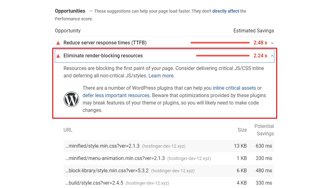 WordPress. «Render-Blocking JavaScript and CSS». Как это исправить? — IT-МИР. ПОМОЩЬ В IT-МИРЕ 2021