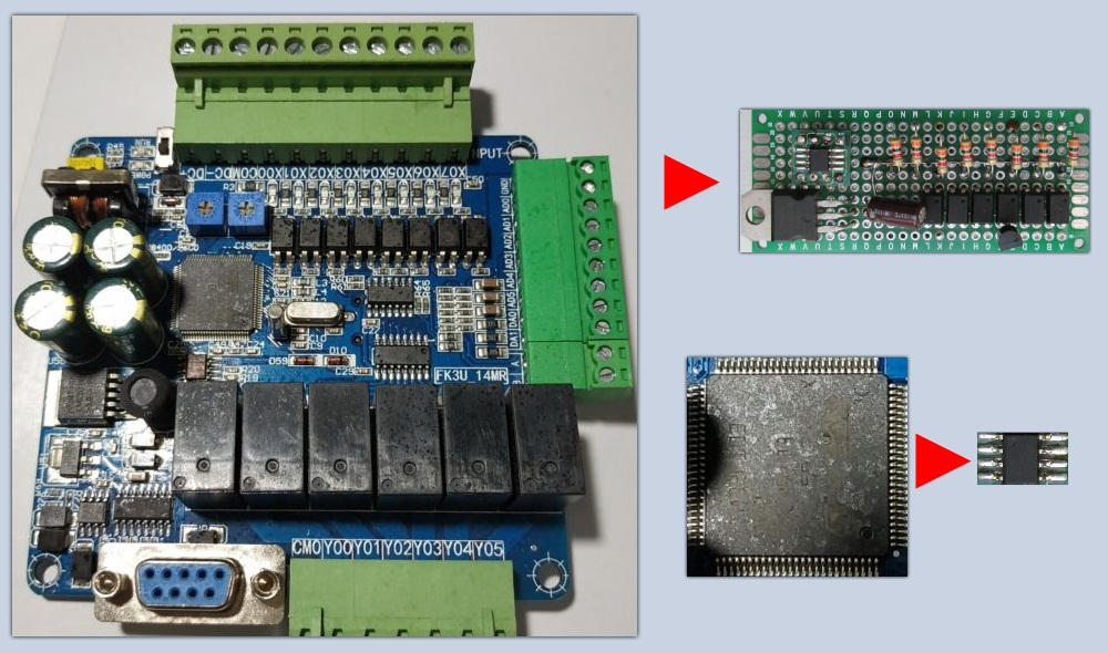 ATtiny13 против ПЛК, или как получить 14 I/O от контроллера с 8 ногами