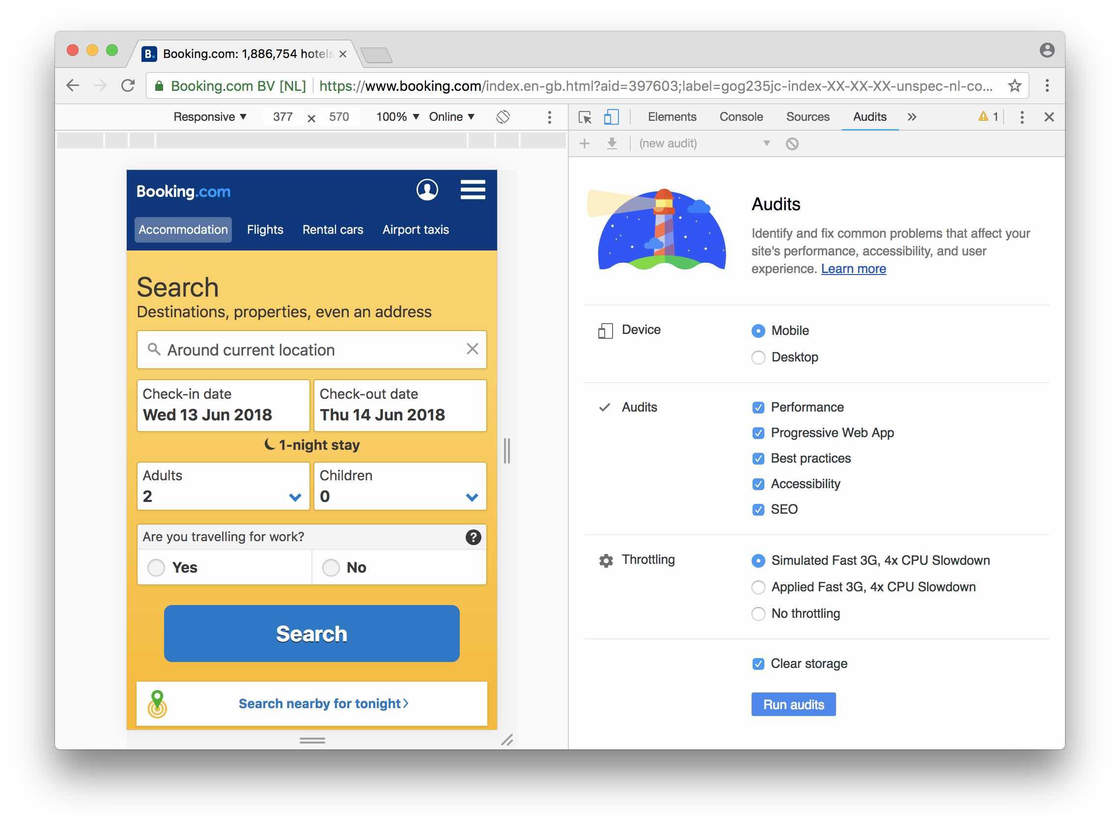 ecd6aecb8e7 Lighthouse позволяет увидеть сильные и слабые стороны вашего web  приложения