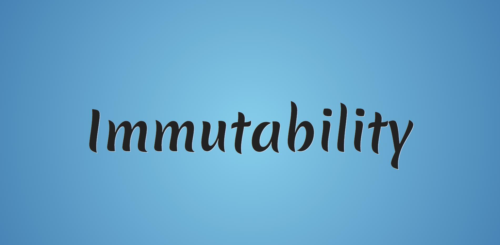 [Перевод] Неизменность данных (immutability) в JavaScript