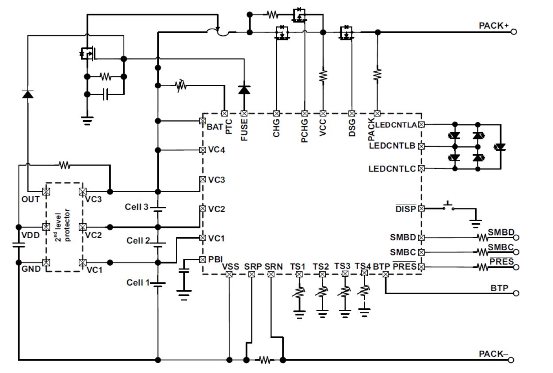 Разработка внешнего аккумулятора на четырех батареях LiFePO4