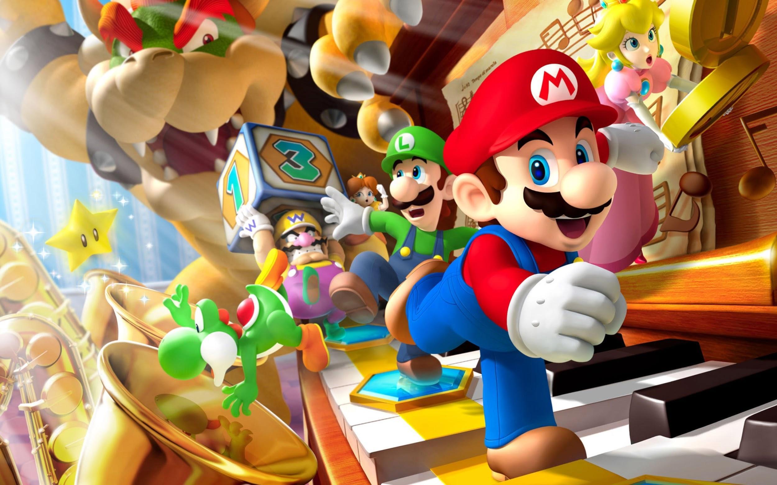 Великолепный Марио рождение легенды