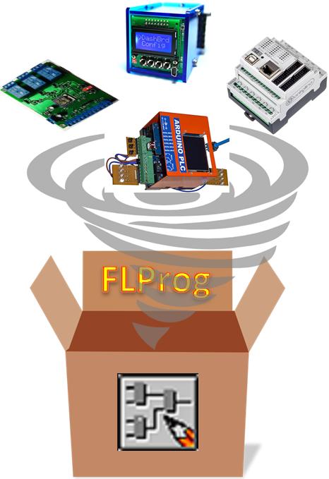 FLProg – Самостоятельная интеграция в программы кастомных контроллеров