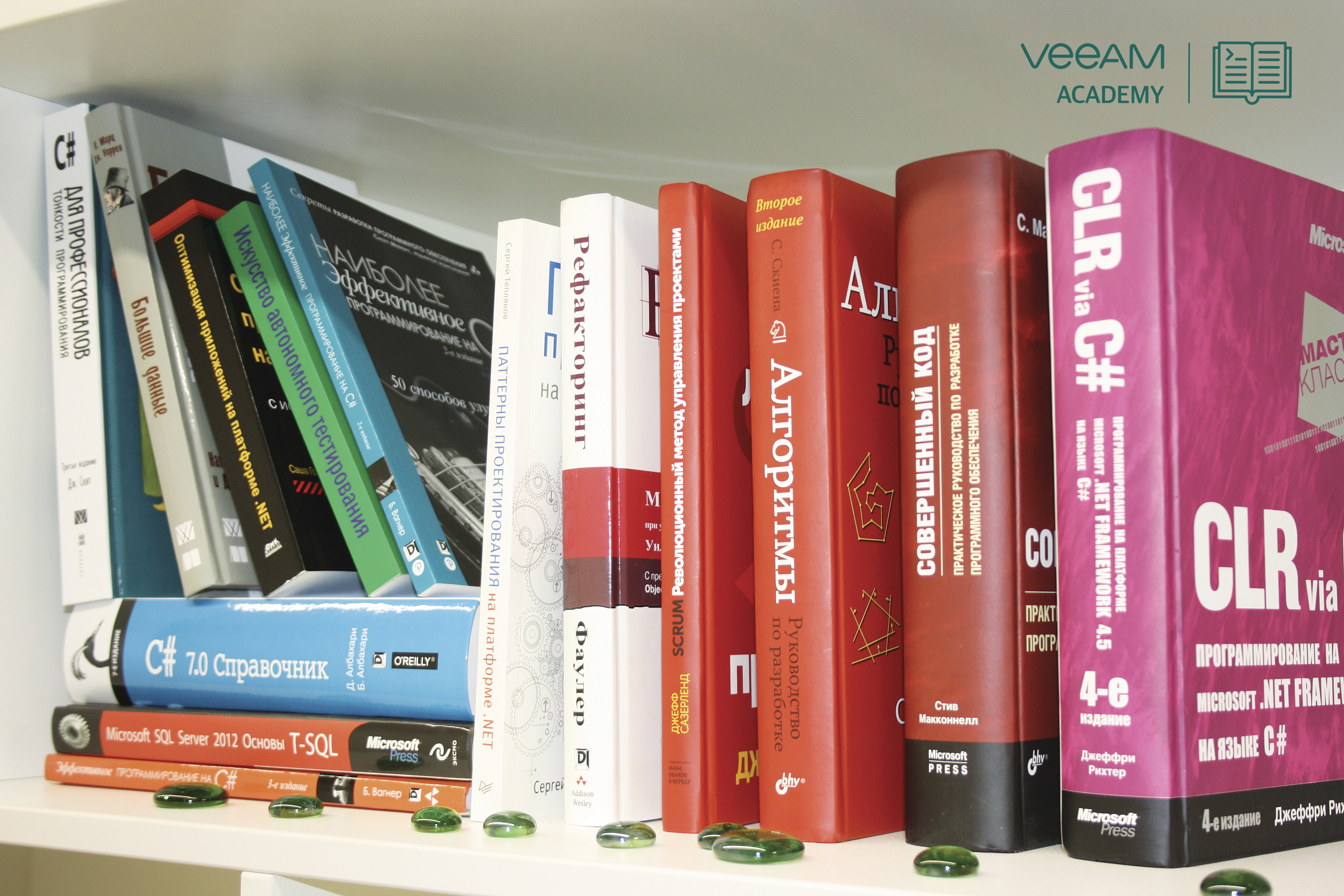 Our bookshelf C # -programmer. And what about you?