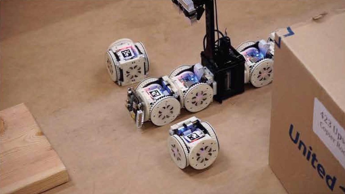 Trust Me, I know what I'm doing: самостоятельная адаптация модульного робота под среду выполнения задачи