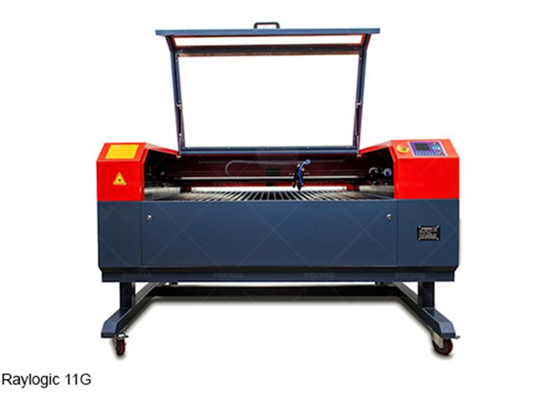 Comparison of laser cutting machines Raylogic 11G and Raylogic V12