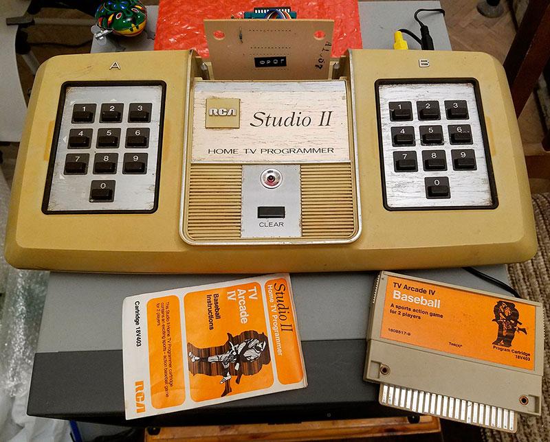 Architecture and programming RCA Studio II