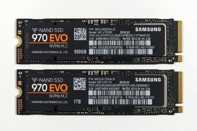 [Перевод] Phoenix. Направляясь ввысь: обзор накопителей Samsung 970 EVO (500 ГБ и 1 ТБ)