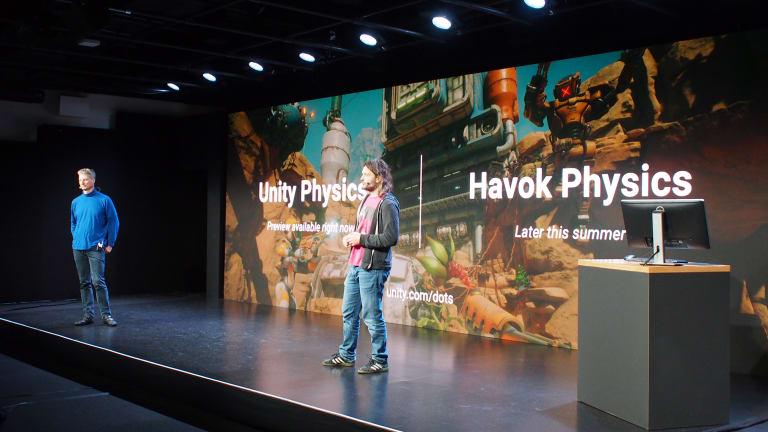 Unity вместе с Havok работают над новым физическим движком