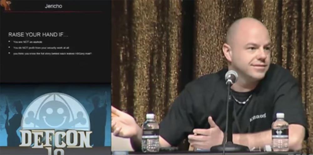 Конференция DEFCON 19. Anonymous и мы. Часть 1