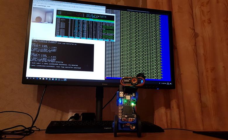Как использовать USB-камеру с ROS на Raspberry Pi или BeagleBone Blue — для потокового стрима видео на большой компьютер