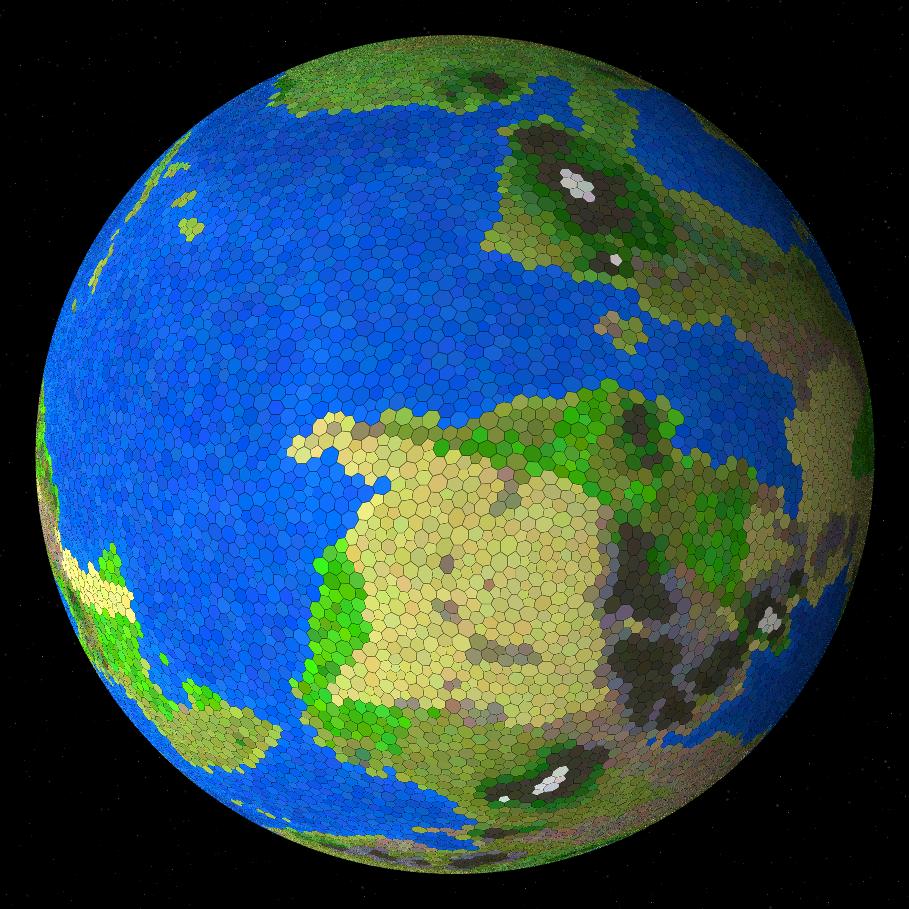 [Перевод] Процедурная генерация планет