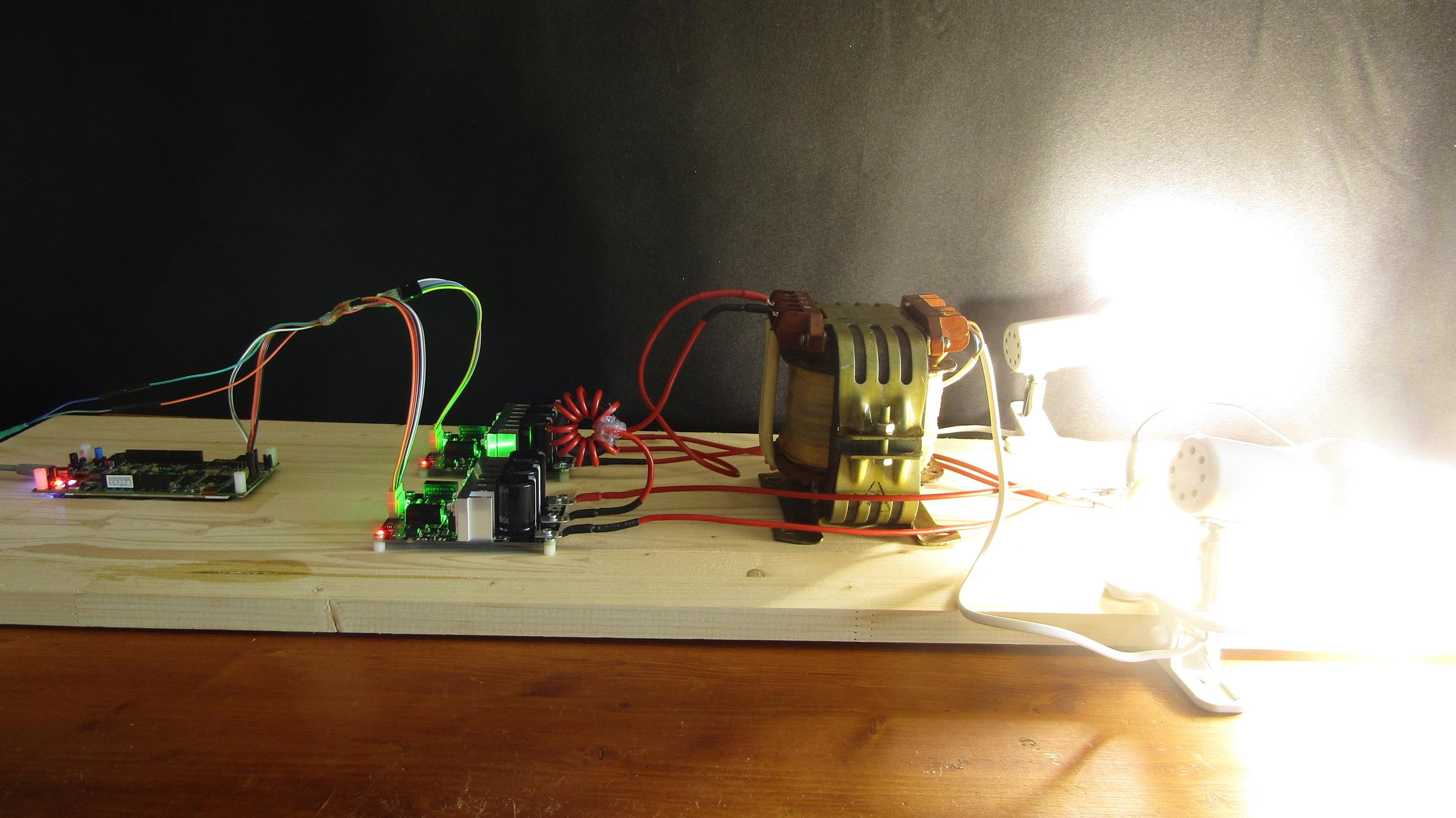 Инвертор с чистым синусом за 15 минут или «силовая электроника — каждому»