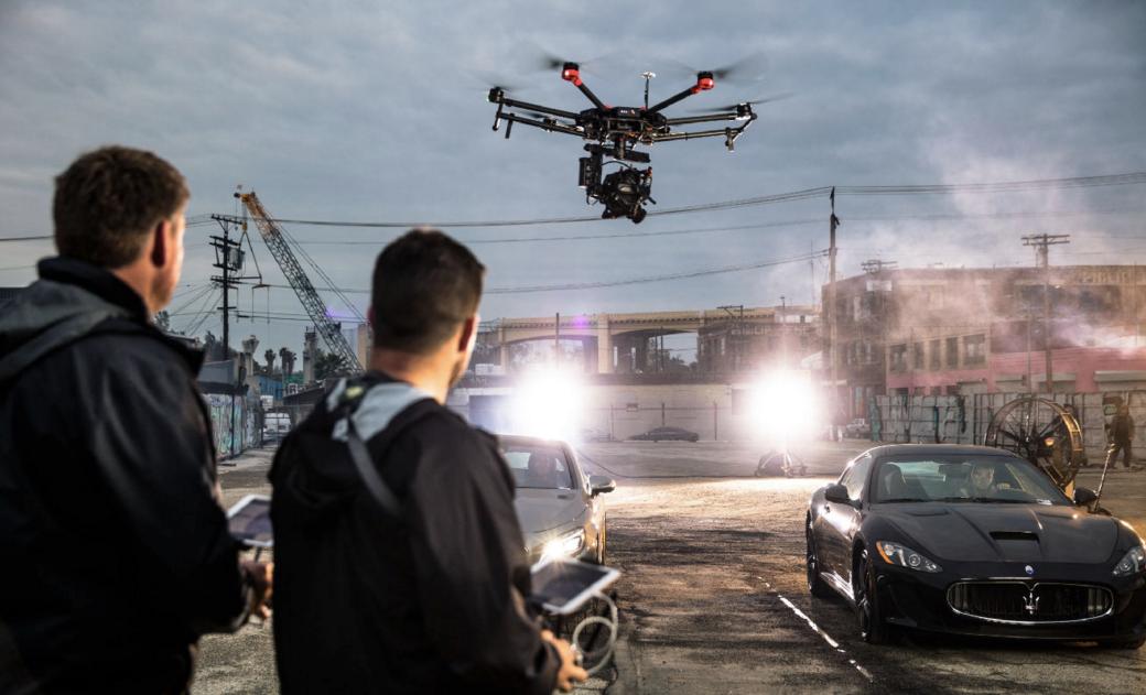 Какие дроны используют в мировом кинематографе