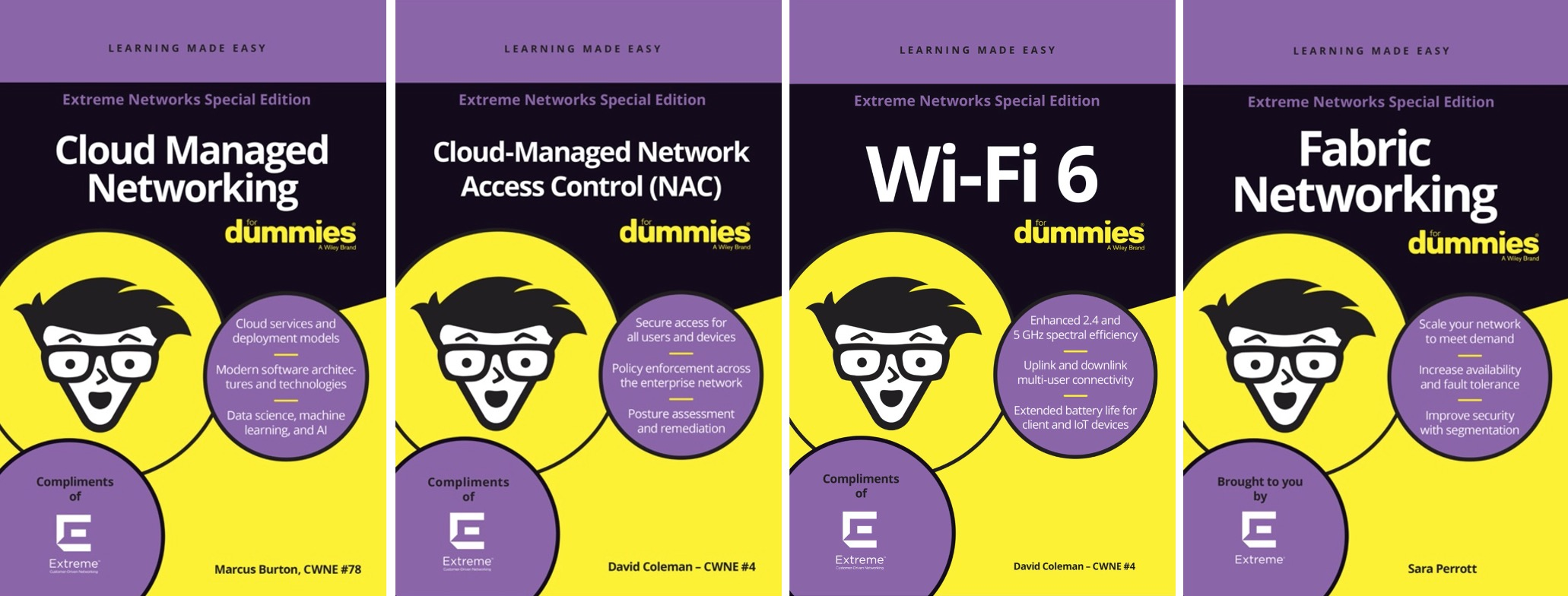 Подборка литературы по сетевым технологиям от компании Extreme Networks