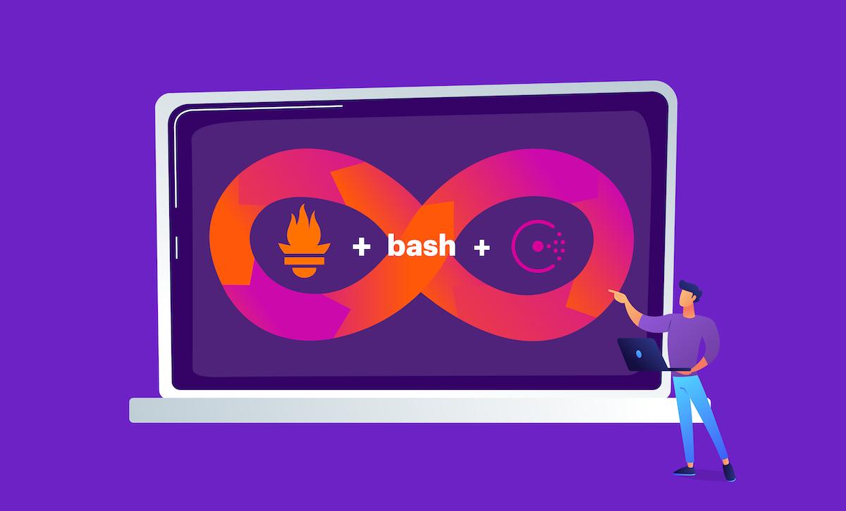 Prometheus + Bash + Consul