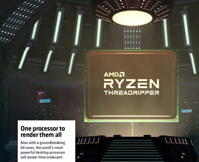 64-ядерный Ryzen Threadripper 3990X разгромил в тестах все процессоры Intel, включая Xeon стоимостью $20000