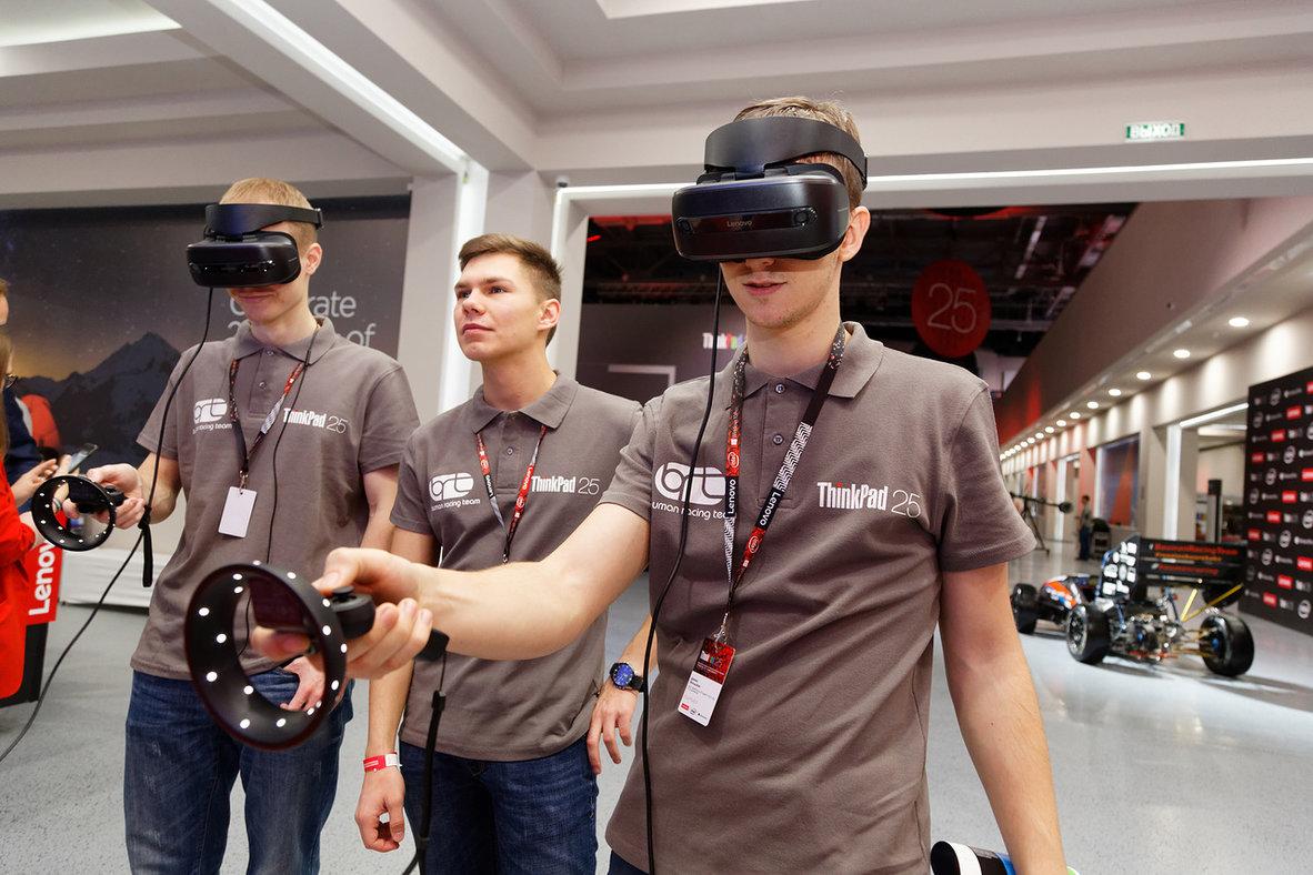 VR Concept и Lenovo Explorer: универсальный подход к прототипированию в виртуальной реальности